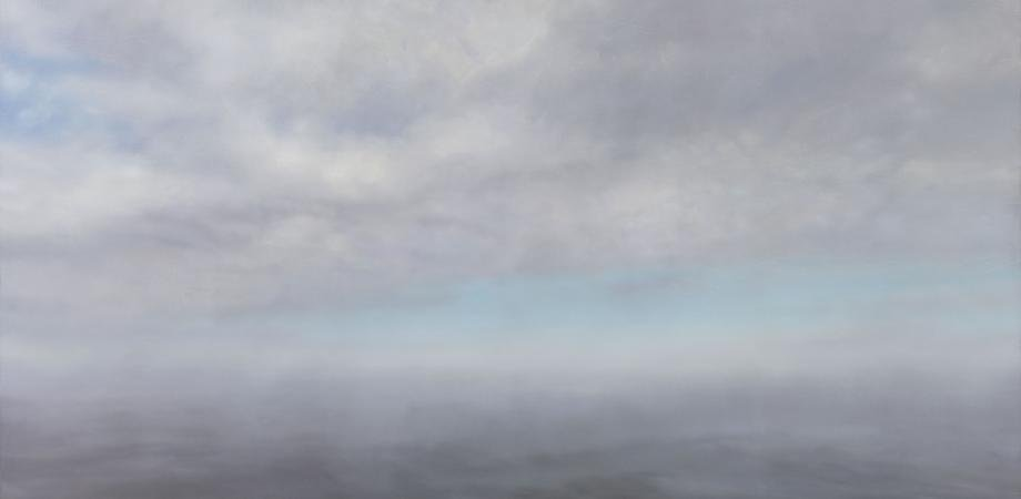 Gerhard Richter, Seascape, 1975, oil on canvas [Private collection, New York]